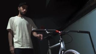 Артур Чапарян о своём велосипеде