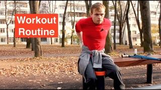 Workout Elements. Some of the HARDEST elements!(Воркаут элементы. Одни из самых сложных элементов!)