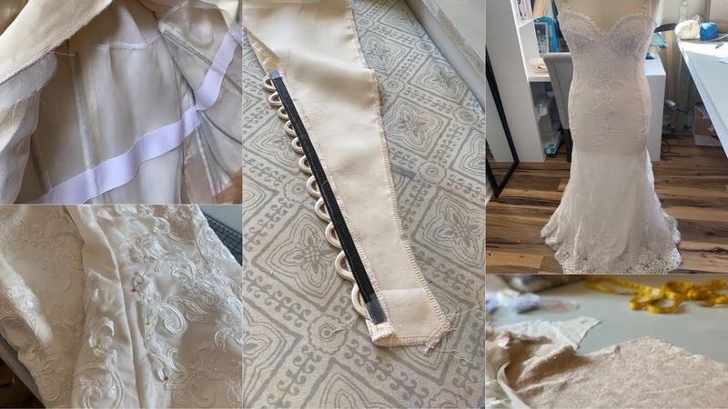 Sewing Vlog: Dressmaking and Wedding Dress Alterations