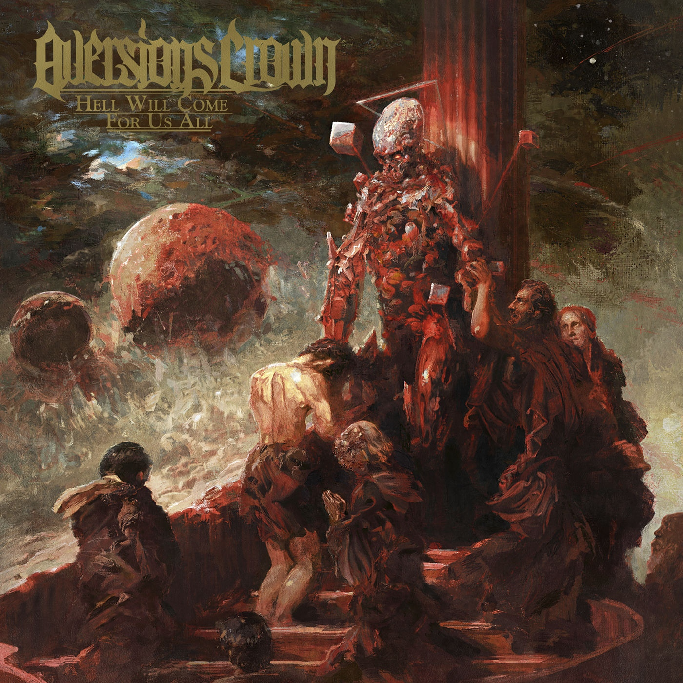 Aversions Crown - Born in the Gutter [single] (2020)