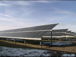 Александр Бурков принял участие в торжественном открытии первой в регионе солнечной электростанции