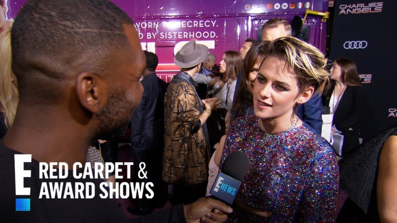 Kristen Stewart Puts Her Twist on Charlie's Angels Role E Red Carpet Award Shows