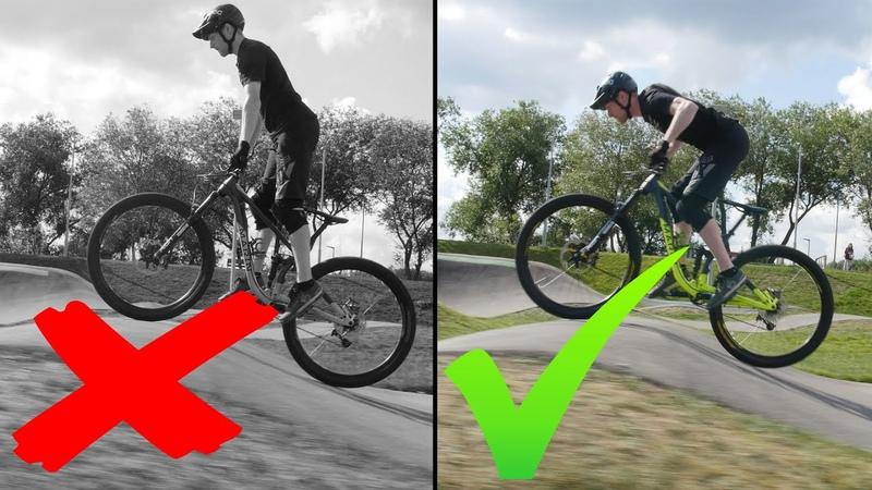 Как качать памптрек How to Pump Track MTB BMX