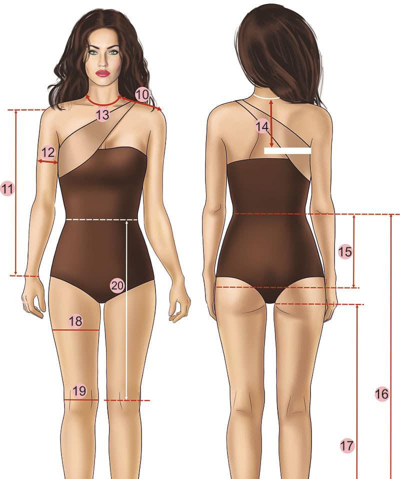 Как правильно снять мерки для выбора одежды., изображение №2