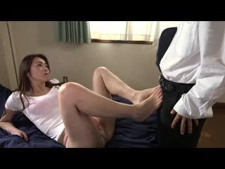 JUL-246 Beautiful Mother-in-law's Lustrous Raw Feet. Hojo Asahi
