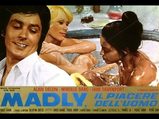 Мэдли (Мелодрама,1970) Ален Делон, Мирей Дарк /Двое любовников встречают красивую чернокожую женщину
