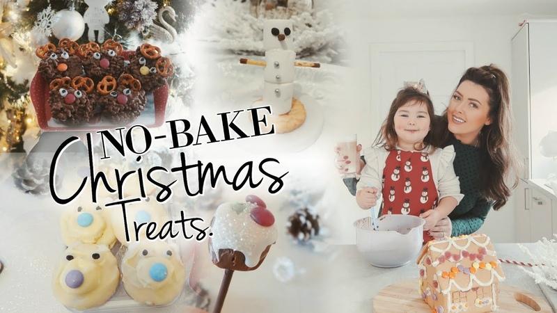 5 EASY NO BAKE CHRISTMAS TREATS FOR KIDS | EASY CHRISTMAS BAKING