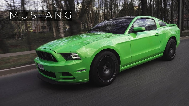 GOTTA HAVE IT GREEN MUSTANG