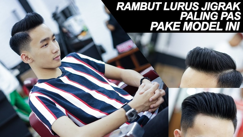 Model Rambut Sejuta Umat Side Part Haircut