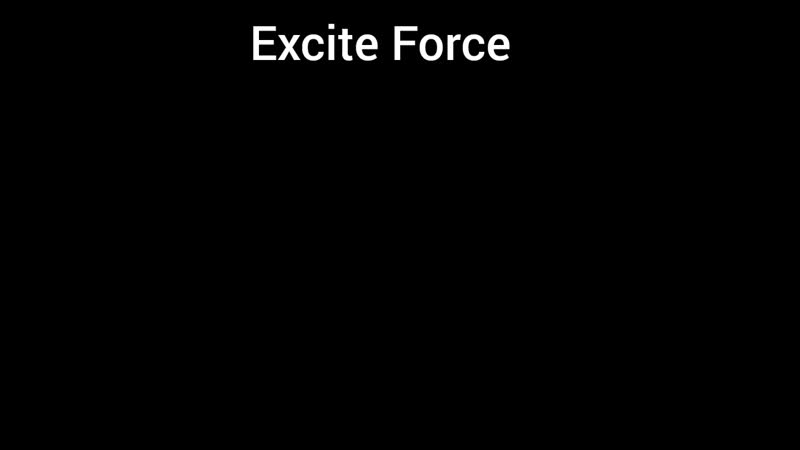 Парфюмерная вода Excite Force