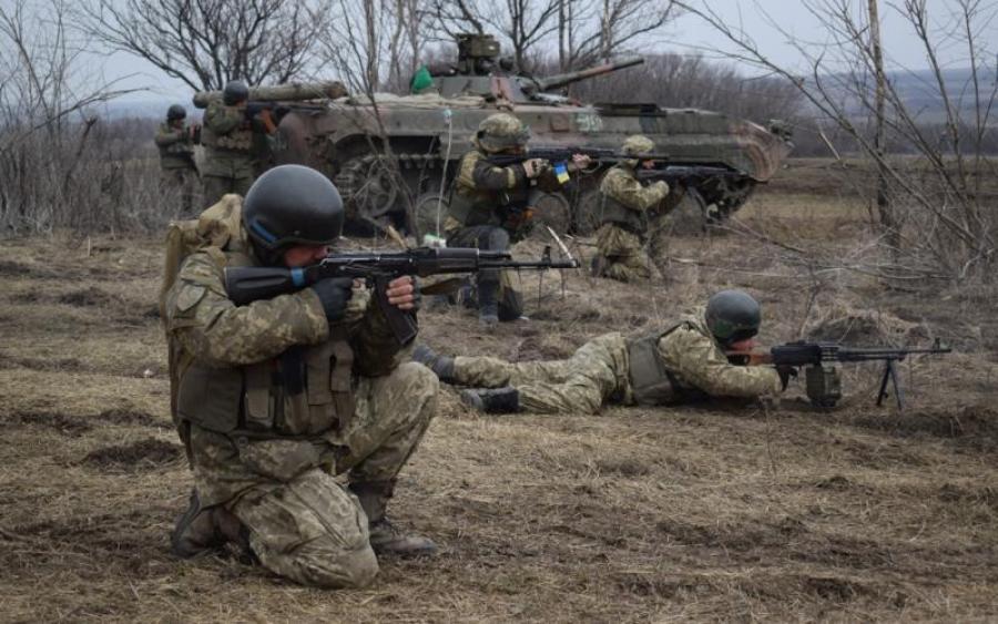ВСУ расстреляли двоих террористов в Донецкой области