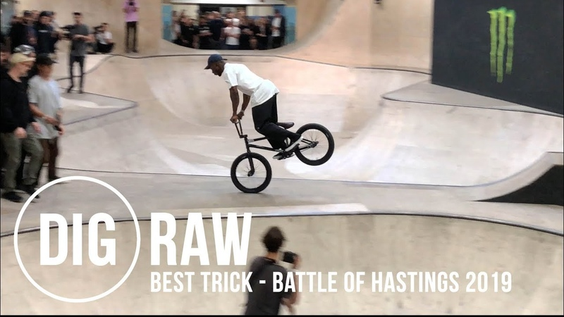 INSANE* 'BEST TRICK' COMP BATTLE OF HASTINGS 2019 DIG BMX 'RAW'
