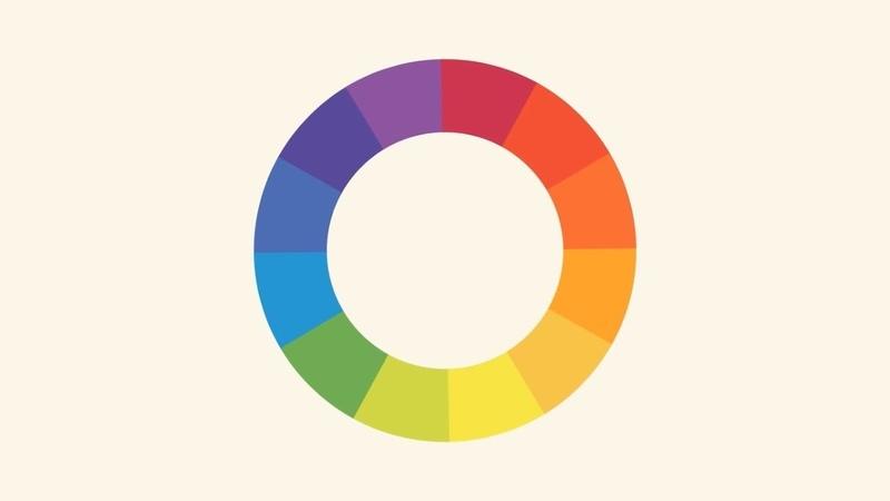 Графический Дизайн Цвет