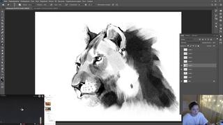 Стрим № 219 - как рисовать быстро, как повысить скорость рисования