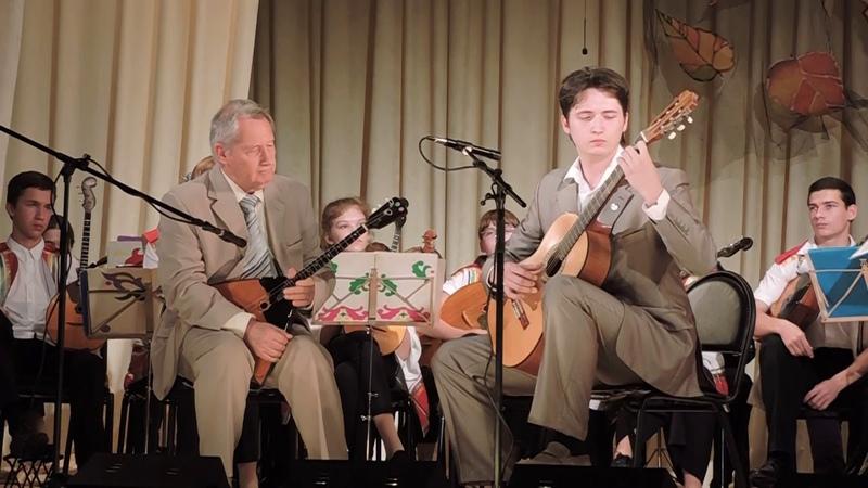 2017 год Инструментальный дуэт Воздух времени Ловланд Песня Дворец пионеров