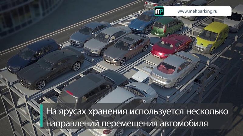 Возможное решение проблемы недостатка парковочных мест в центре и исторической среде мегаполисов