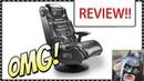 HIGH DEF! X Rocker 2.1 Wireless Gaming Chair Review !