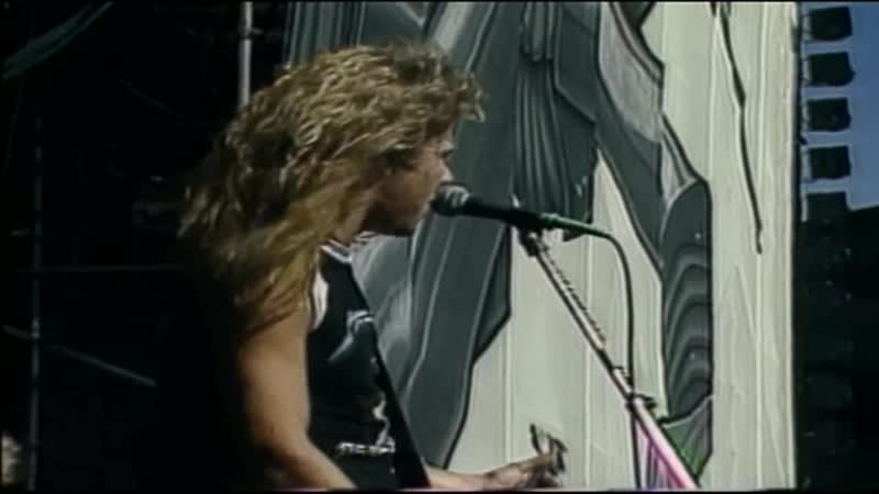 Metallica For Whom the Bell Tolls Cliff Burton Live Oakland 31 1985