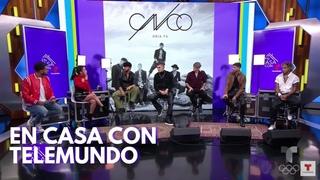 CNCO || En Casa con Telemundo (ENG SUB)