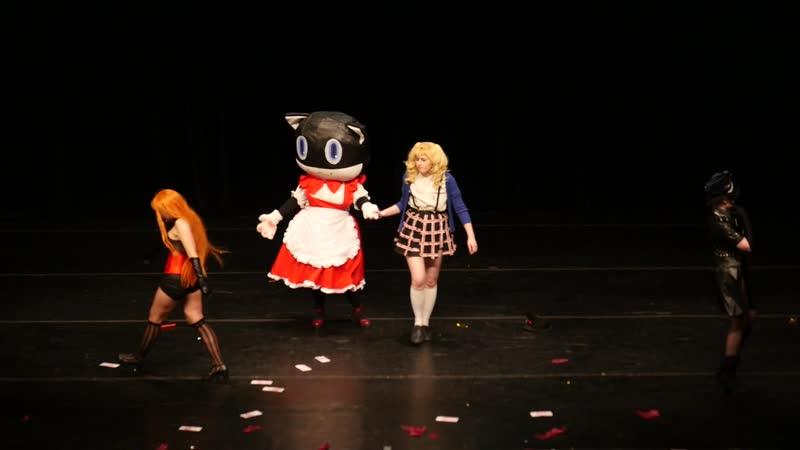 2 51 ИГРОВОЕ ДЕФИЛЕ № 33 Персона 5 Танцы в звездном свете Акира Кусусу Моргана Рюджи Сакамото Футаба Сакура Pussy dropp