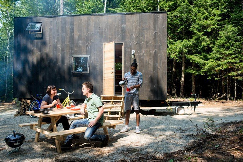 New Harvard Start Up For Test-Driving Tiny House Living