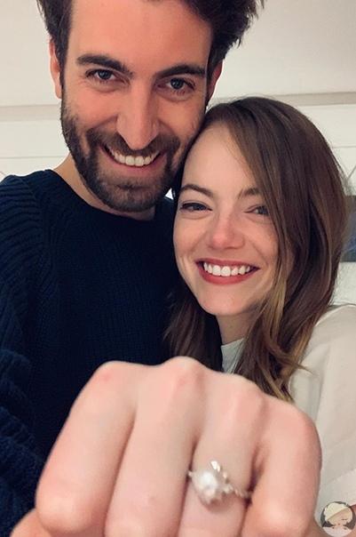 Эмма Стоун помолвлена со своим бойфрендом Дэйвом МакКери