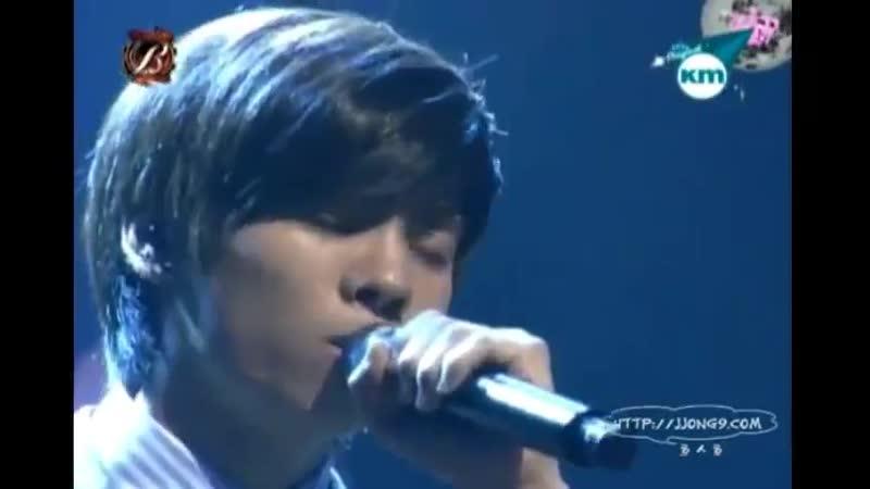 SHINee Cover - - Lee Jihoon - Why the Sky - - 080615 Mnet Madam B Salon - with Lee Jihoon - - SHINee Jonghyun