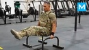 STRONGEST Soldier in Army Gym Diamond Ott Muscle Madness