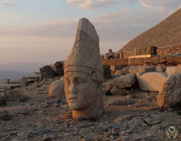 Откуда на горе Немрут-Даг в Турции взялись каменные головы