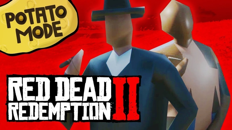 We Completely Destroy Red Dead 2's Beautiful PC Graphics | Potato Mode