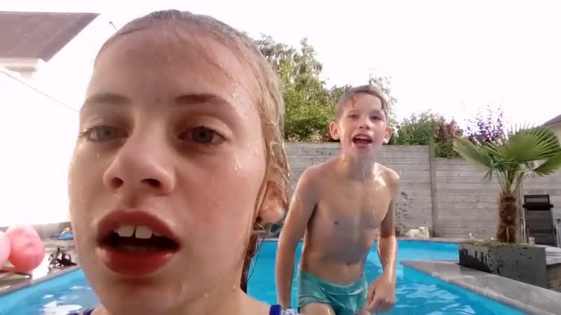 In zwembad kermisboy vlog 91