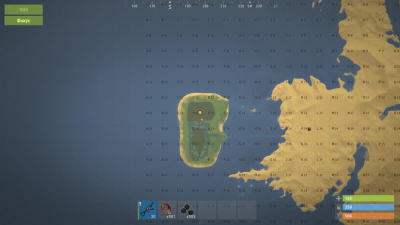 Прорабатываем Космо J D NIK Atmosphere RUST map PVE