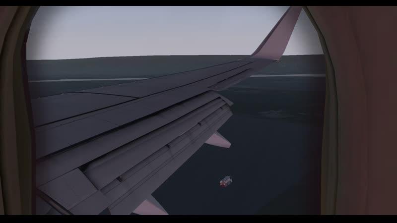пажылая посадка с headshake