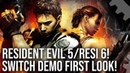 Resident Evil 5 Resi 6 On Nintendo Switch! Demo Graphics Comparisons Performance Testing!