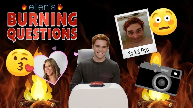 'Riverdale' Star KJ Apa Gets Hot Answering Ellen's 'Burning Questions'