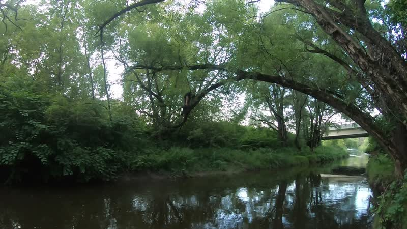 Эпичный лаз над рекой