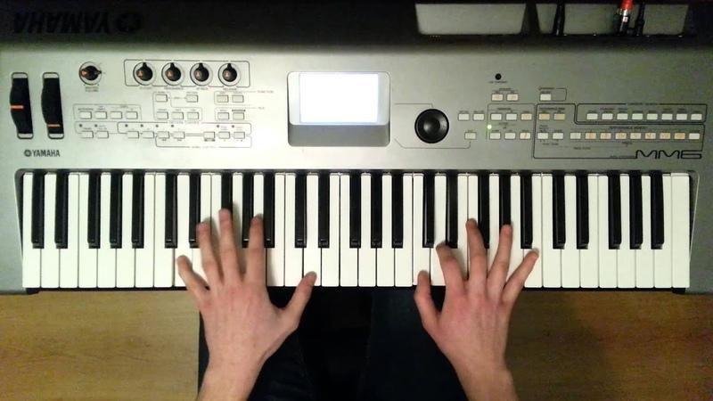 Bohemian Rhapsody Piano Cover on Yamaha MM6 61 keys 5 octave keyboard