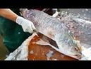 Thai Food - GIANT SEA BASS Mango Salad Aoywaan Bangkok Seafood Thailand