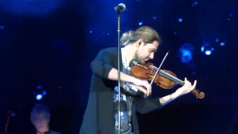 David Garrett - Antonio Vivaldi Concerto N 2 in G minor, Op. 8, RV 315, Summer - Riga 08.12.2017