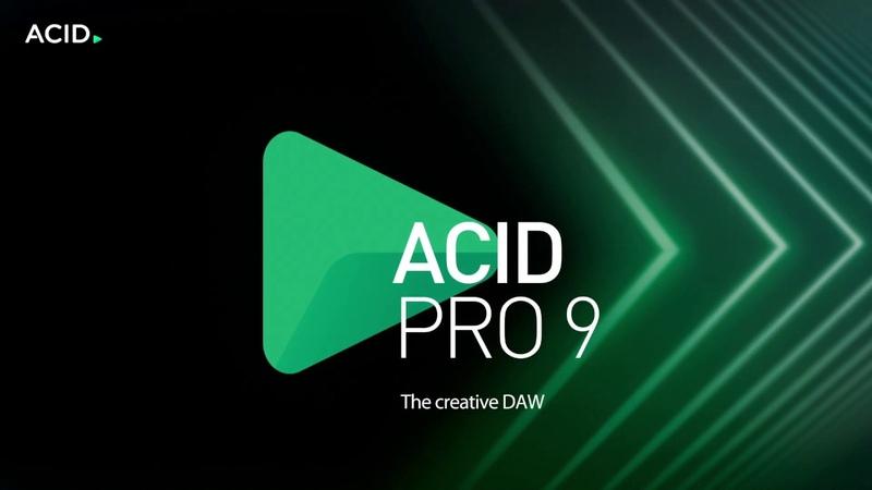 ACID Pro 9 – The creative DAW