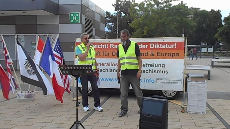 GelbeWesten in Gießen (3) 10.07.2019, Technische Probleme-SSL ??!!