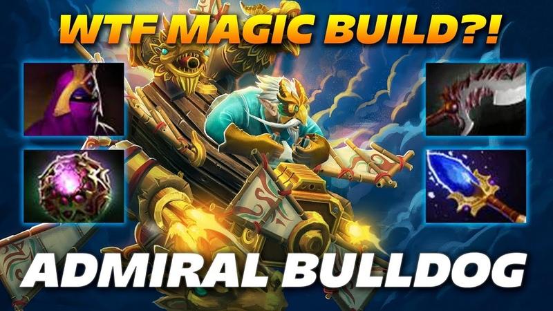 AdmiralBulldog Gyrocopter WTF MAGIC BUILD Dota 2 Pro Gameplay