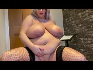 Miss goody two shoes huge tits and belly bbw