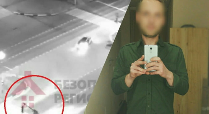 Видео страшного ночного ДТП в Ярославле на проспекте Фрунзе