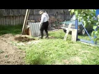Делаем компостный ящик к себе на участок