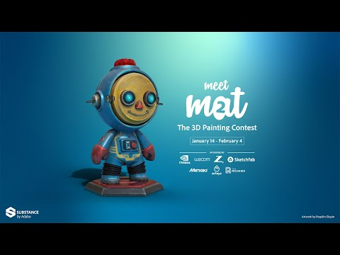 Meet MAT 2 Take your first steps in Substance Painter
