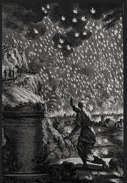 Прохождение Земли через каменно-пыле-глиняное облако