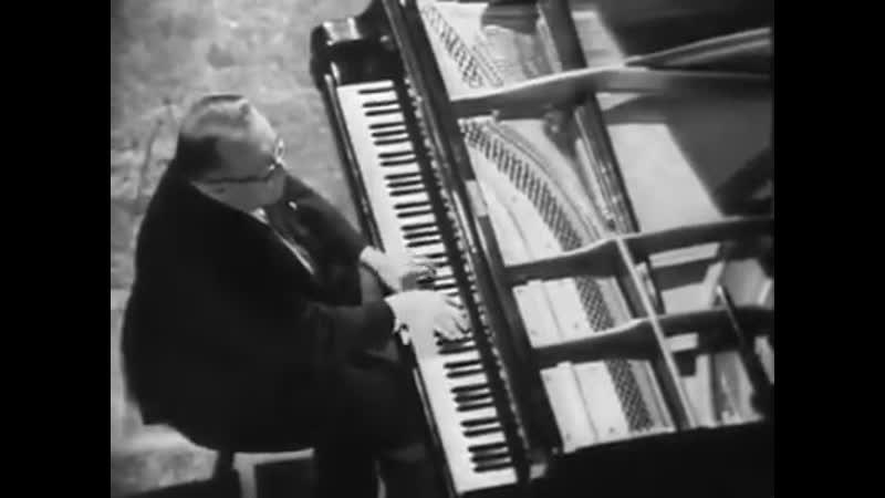 Лев Оборин - Хачатурян Токката ми-бемоль мажор (1967).
