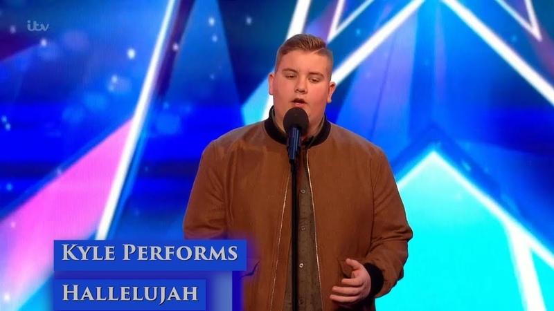 Britains Got Talent S1106 Kyle Tomlinson Hallelujah