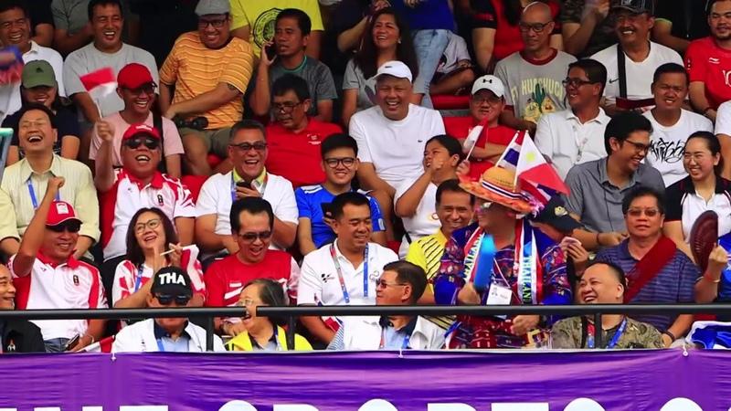 Игры Юго-Восточной Азии 2019. Теннис. Женщины. Парный разряд. Финал. Индонезия - Таиланд